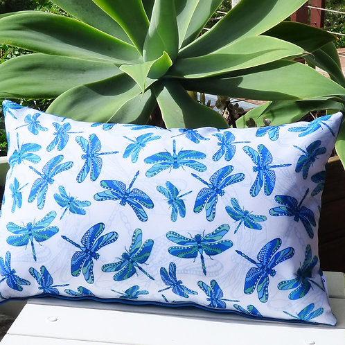 OUTDOOR summer dragonfly cushion cover