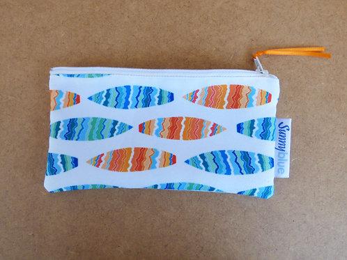 Surfboard zippy pouch