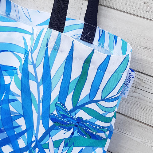 Dragonfly Palm Tote Bag