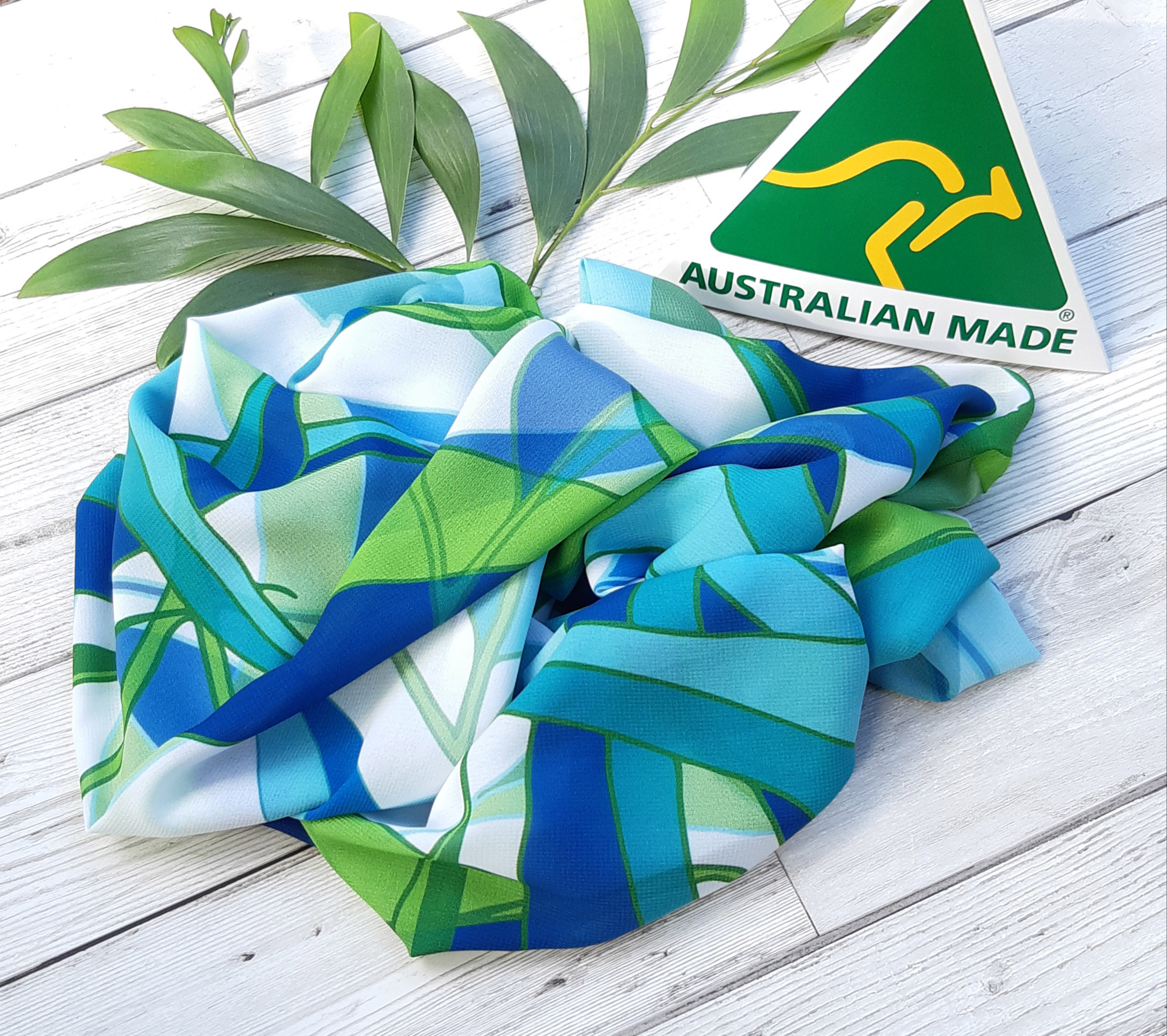 Lime Gum Leaf Australian Made