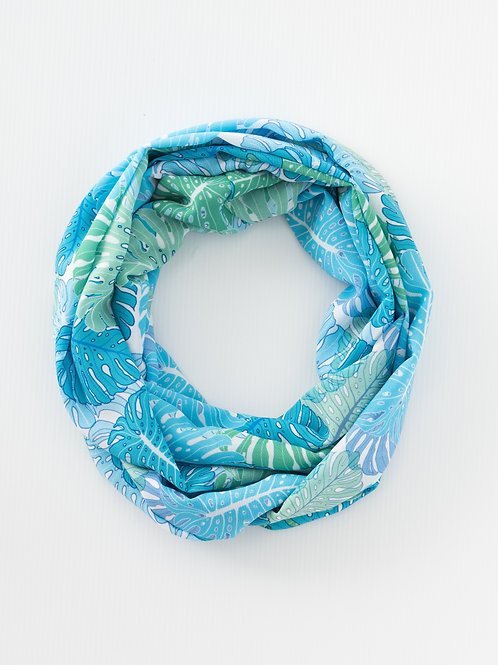 Monstera Infinity Scarf