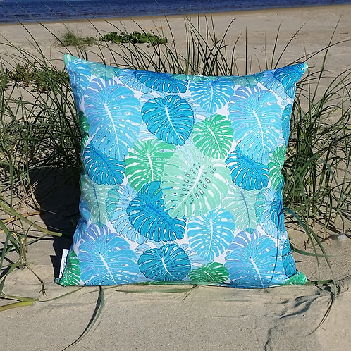 OUTDOOR Small Monstera cushion cover