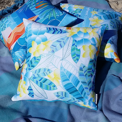 OUTDOOR INDOOR Frangipani cushion cover