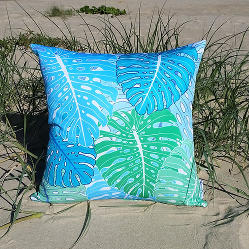 OUTDOOR Monstera cushion cover