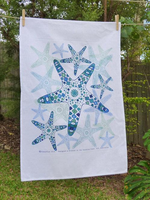 Starfish Tea Towel