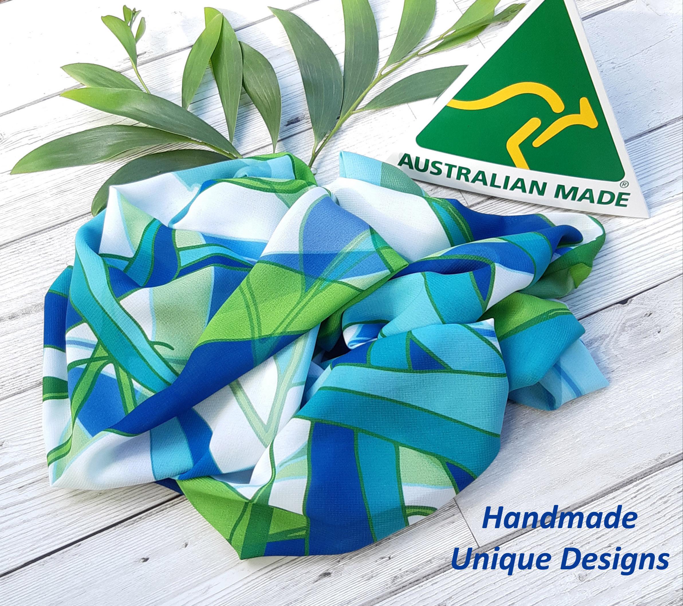 Lime Gum Leaf Australian Made Handmade