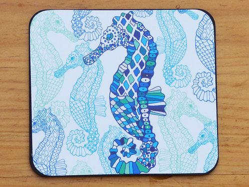 Large Seahorse Coaster