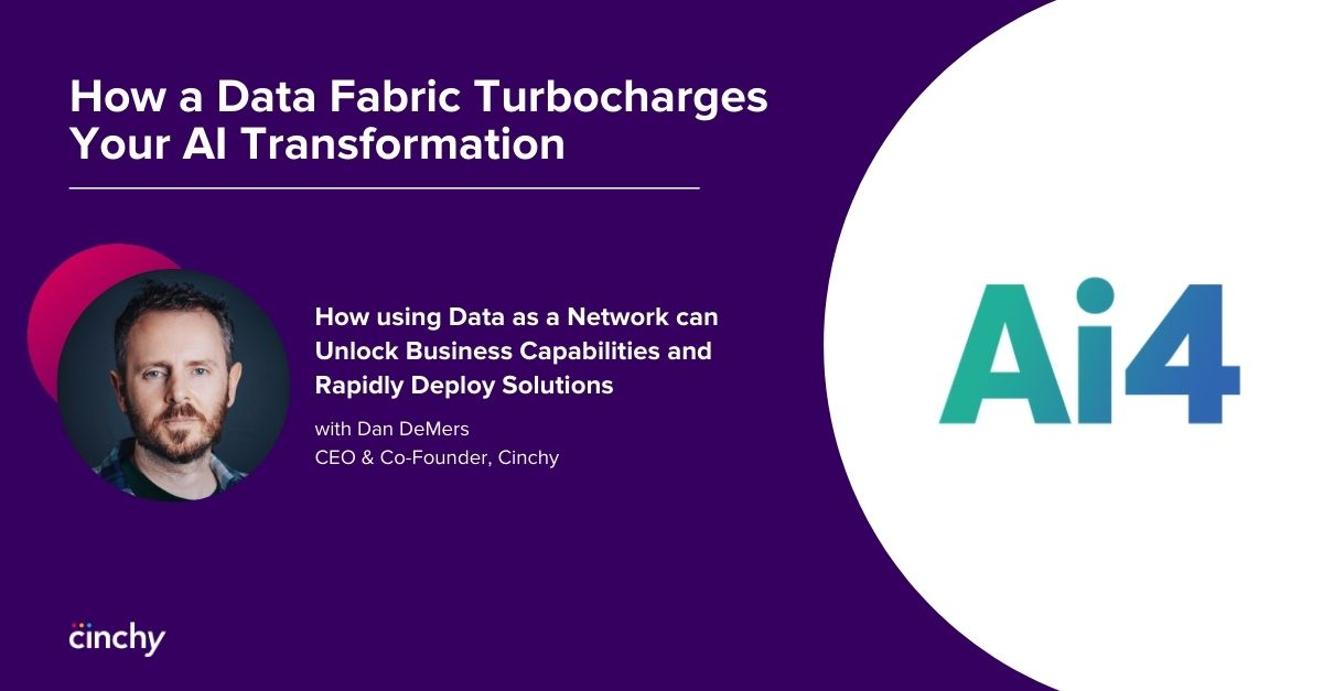 How a Data Fabric Turbocharges Your AI Transformation