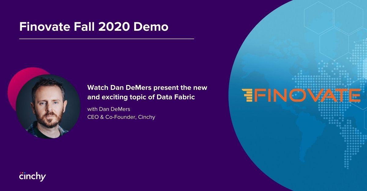 Finovate Fall 2020 Demo