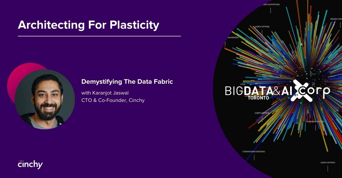 Big Data and AI 2020 - Architecting for Plasticity: Demystifying the Data Fabric