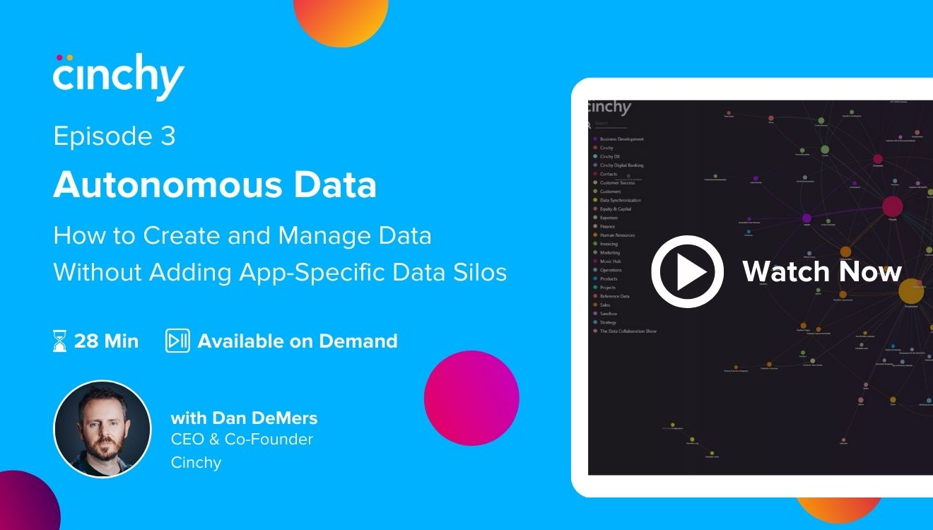 [Season 1 Ep. 3] Autonomous Data: How to Create and Manage Data Without Adding App-Specific Databases