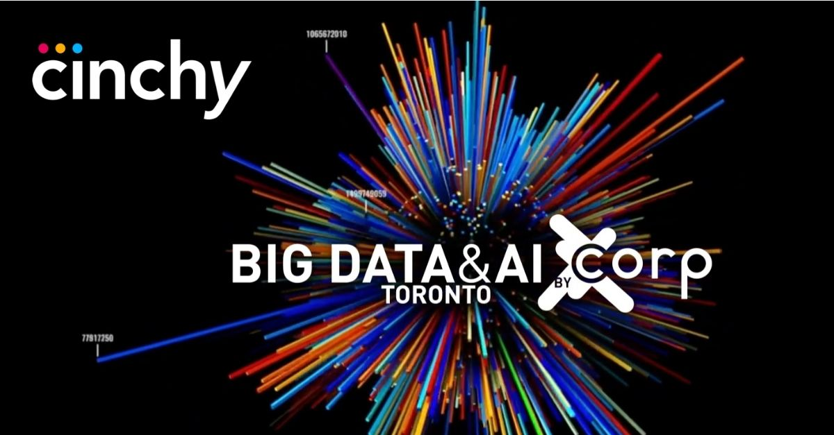 Cinchy @ Big Data & AI Conference: Application Augmentation - Using a Data Fabric to Make Your Apps Smarter