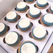 Custom Bridal Shower Cupcakes