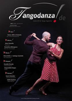 """Magazine """"tango danza"""" Allemagne"""