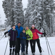 Family Ski Day by Michelle Iacobucci