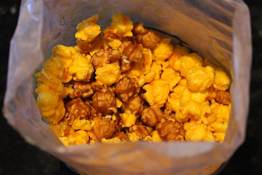 Chicago Style Popcorn: Caramel Corn & Cheddar Popcorn