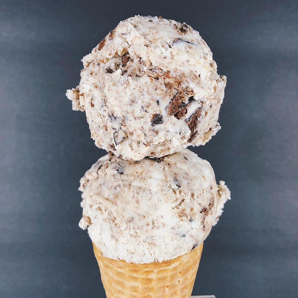 Thin Mint Homemade Ice Cream
