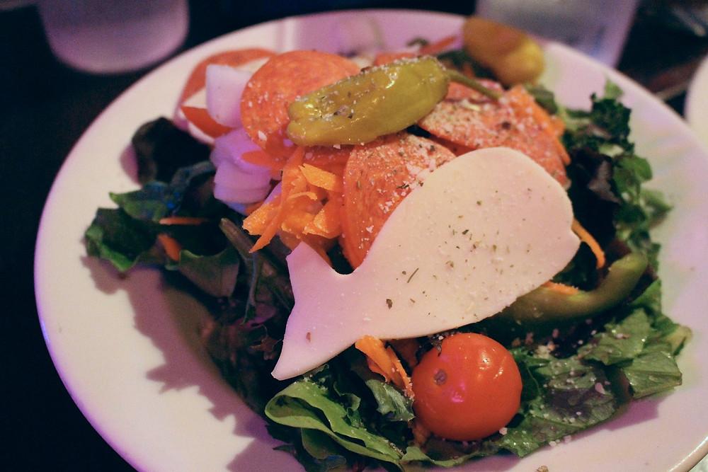 Salad at Pequod's