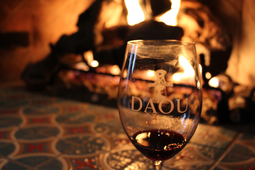 Wine at Daou Winery