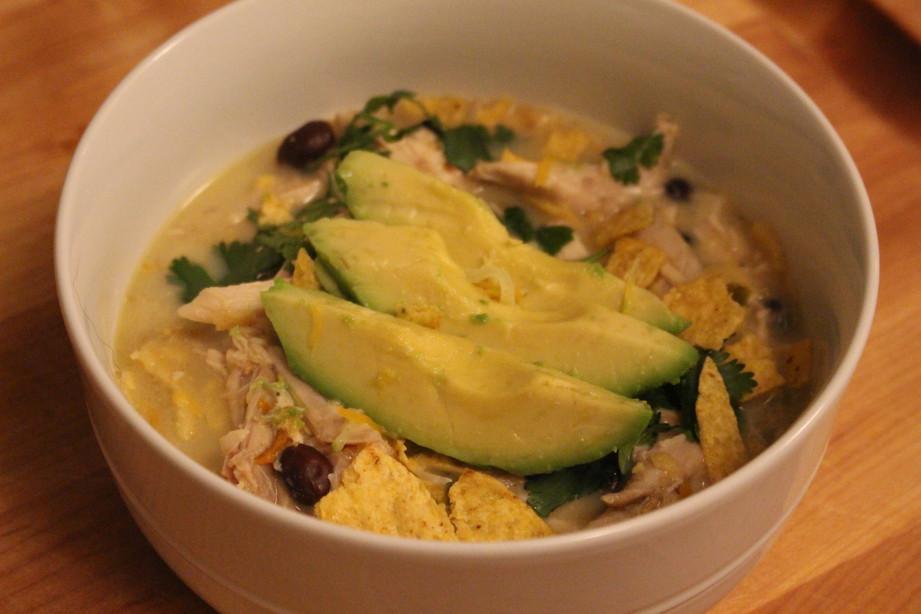 Chicken & Green Hatch Chile Soup