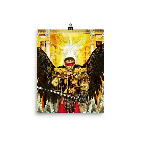 Archangel Raguel - Photo paper poster