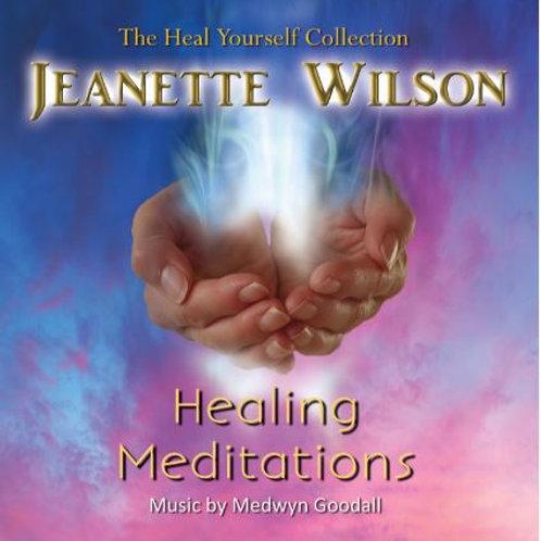 Healing Meditations MP3, Jeanette Wilson & Medwyn Goodall