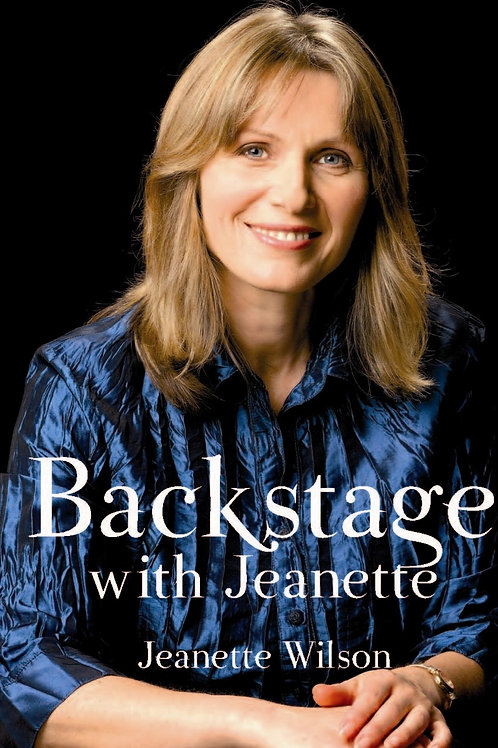 Backstage with Jeanette E book