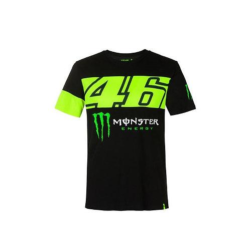 VR46 T-shirt Monster Energy Dual