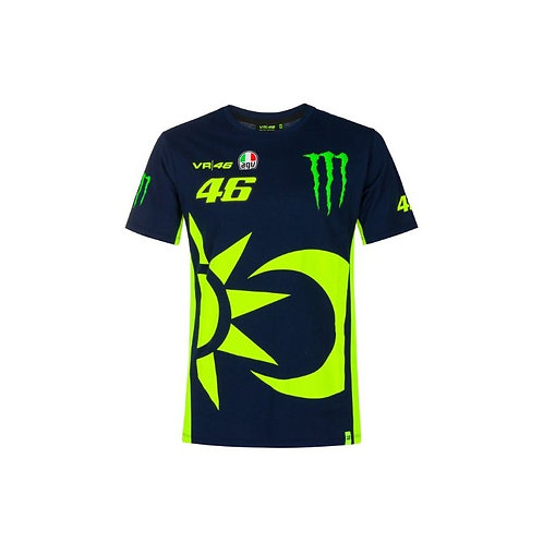 VR46 T-shirt Monster Energy