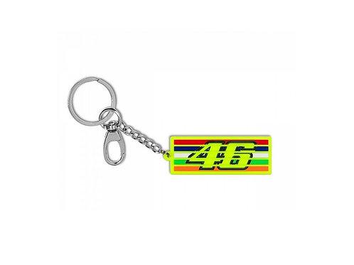 VR46 Porta-chaves Stripes Am