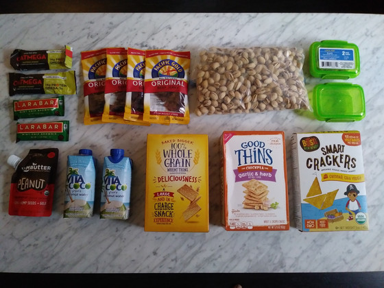 """Snacking Game Plan"" for a Dance Intensive (Including a Snacks Packing List)"