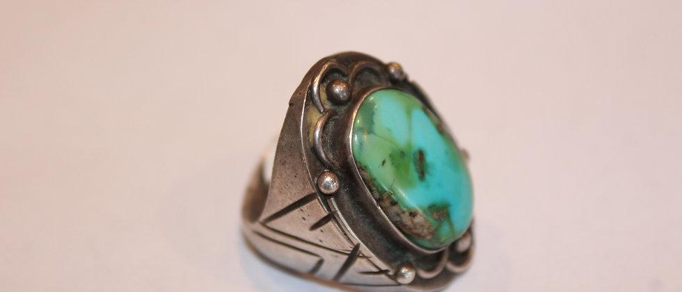 Navajo Blue Gem Ring