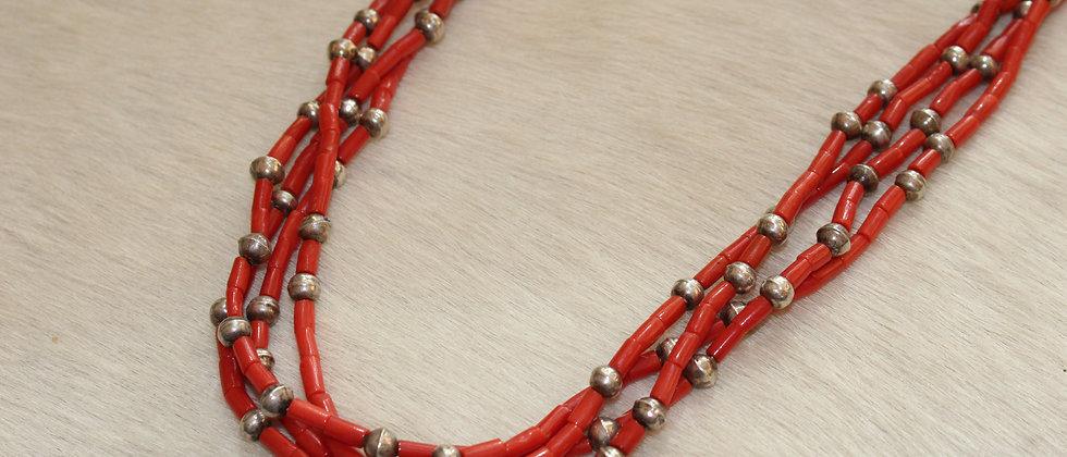 Pueblo 4 Stand Mediterranean Beads