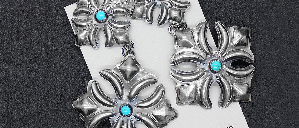 Navajo Design Earrings