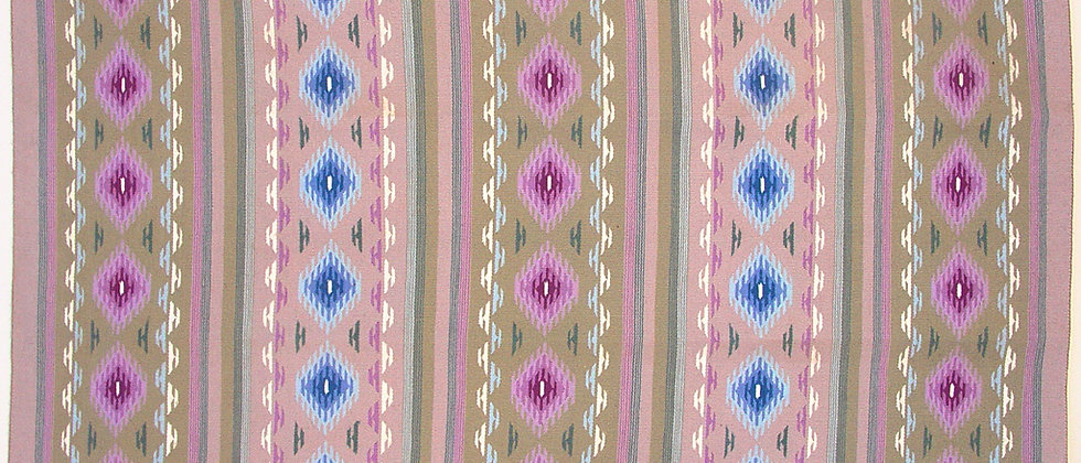 Purple Crystal Navajo Rug