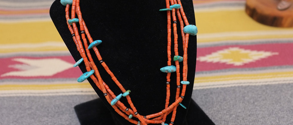 Old Coral Pueblo Beads