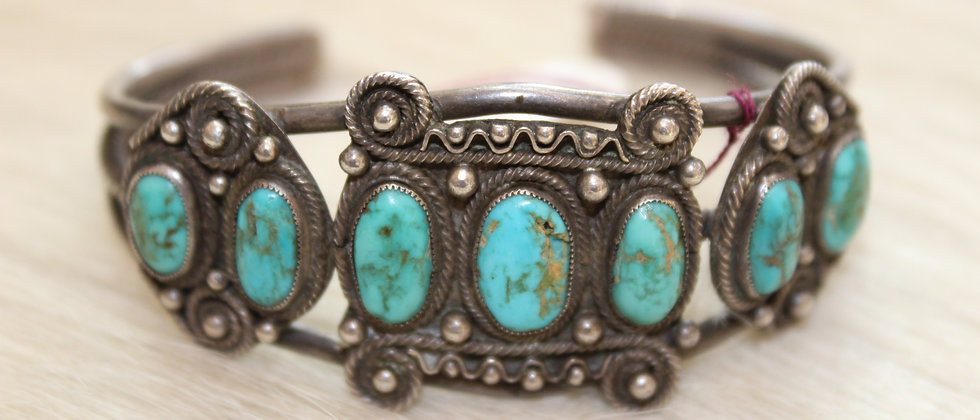 7 Stone Bracelet from the 1920s