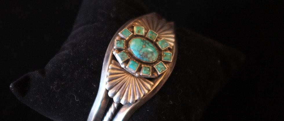 1930s Turquoise Bracelet
