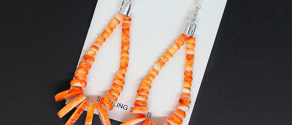 Spiny Oyster Jacla Earrings