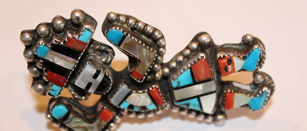 Zuni Rainbow God Ring