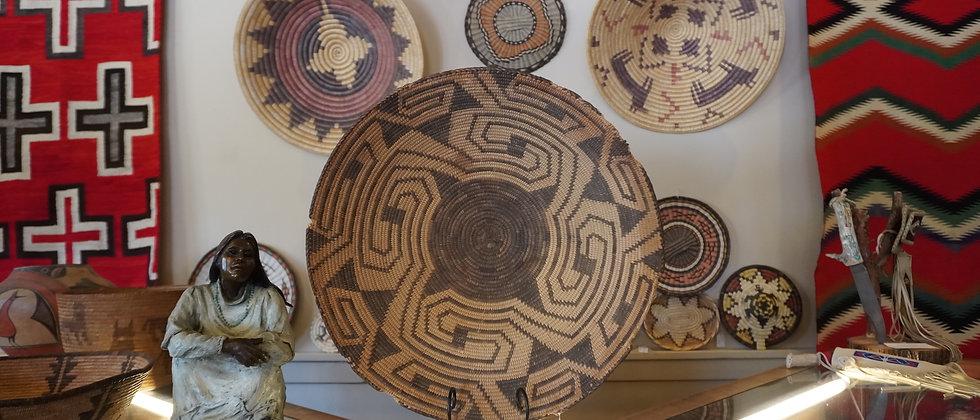 Pima Rim Basket Circa 1880