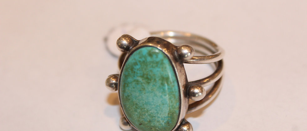 Fox Mine Turquoise Ring