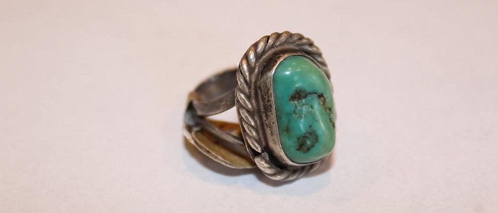 Fox Mine Turquoise Ring