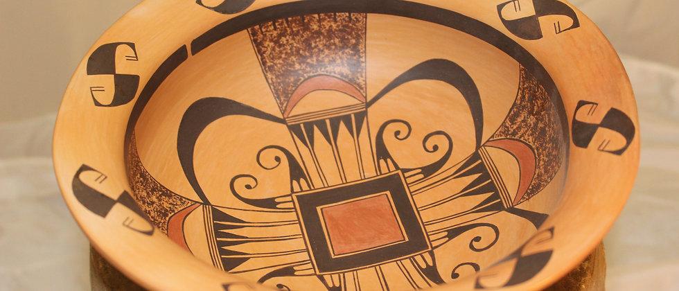 Hopi Bowl by Nyla Sahmie
