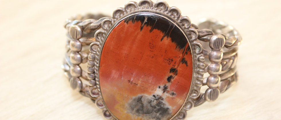 Petrified Wood Bracelet