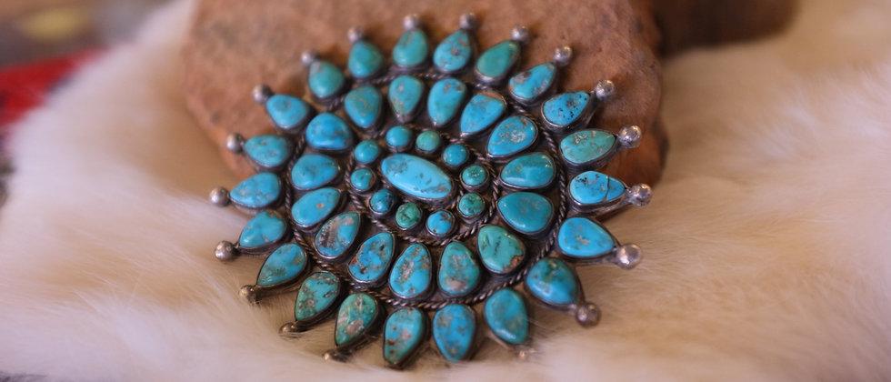 Navajo cluster pin