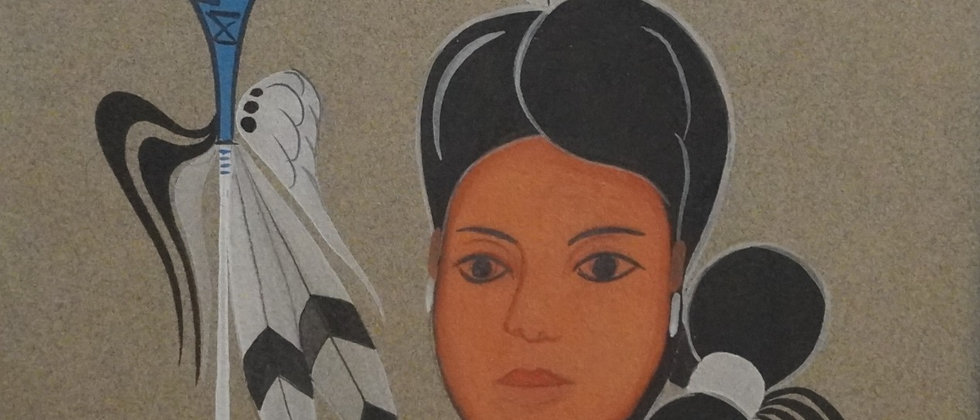 """Navajo Maiden"""