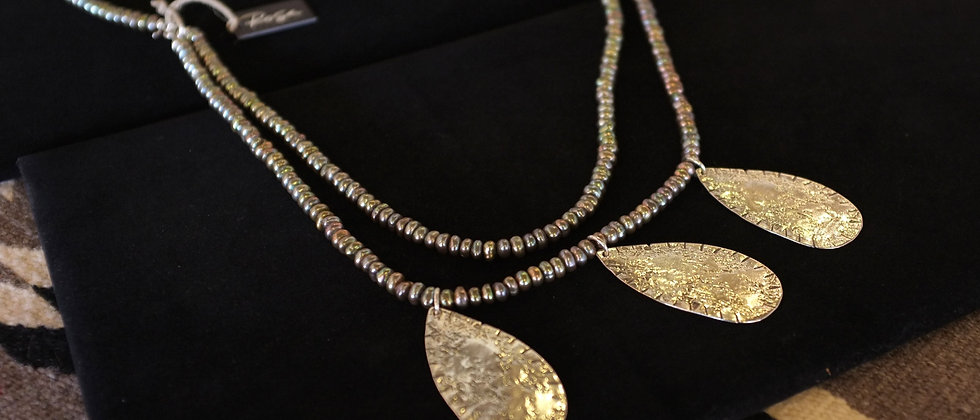 Triple Droplet Necklace