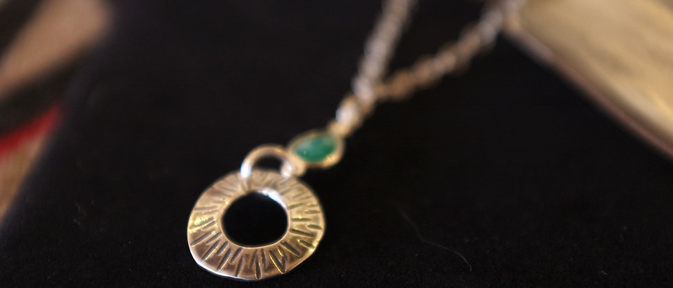 Small Hoop Necklace