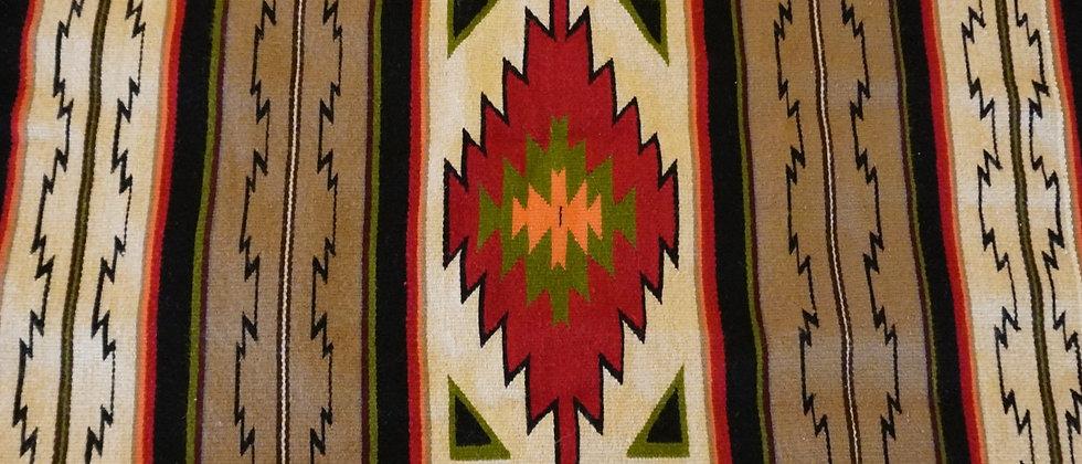 Crystal Pattern Navajo Rug
